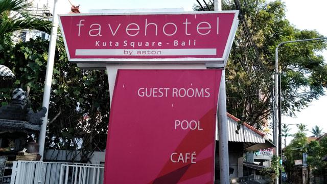 夜遊びに観光に!ファブホテル・クタスクエアに泊まってきました【大手旅行会社指定ホテル】