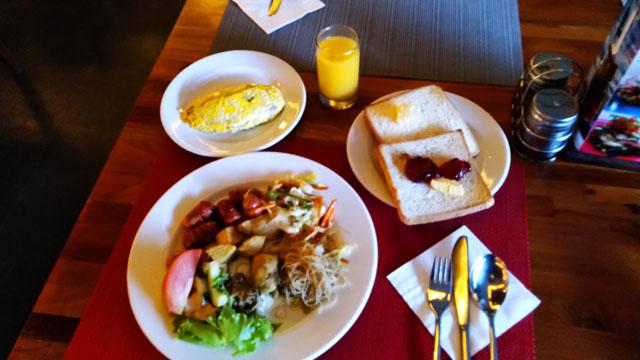 今回の朝食