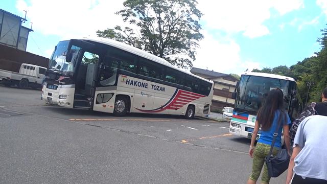 ロープウェー代行バス