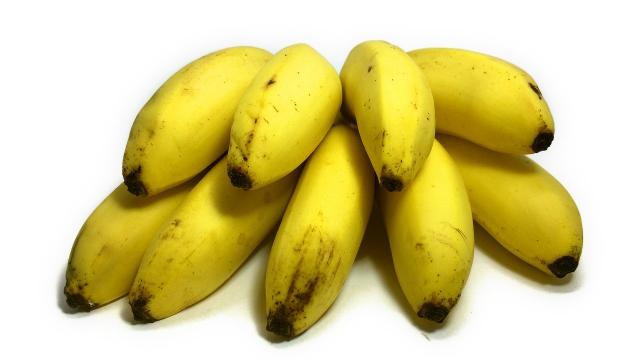 蒸しバナナ