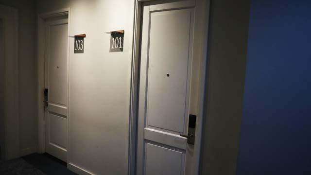 お部屋入り口