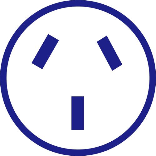 コンセント形状O型